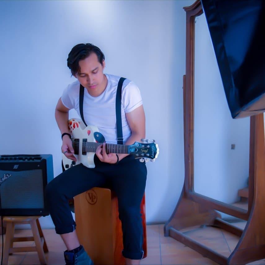Guitarrista Diseño web Profesional