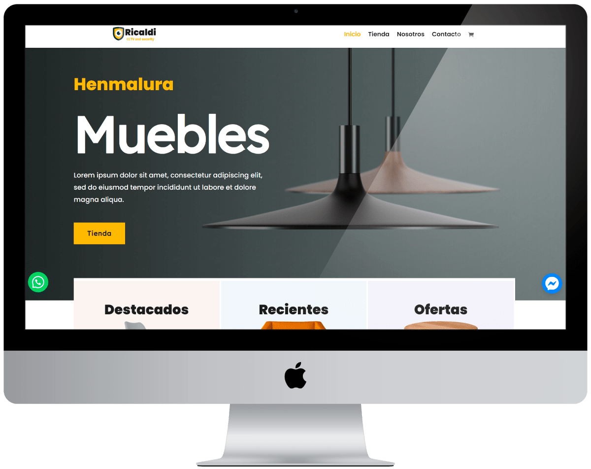 Muebleria Diseño web Profesional