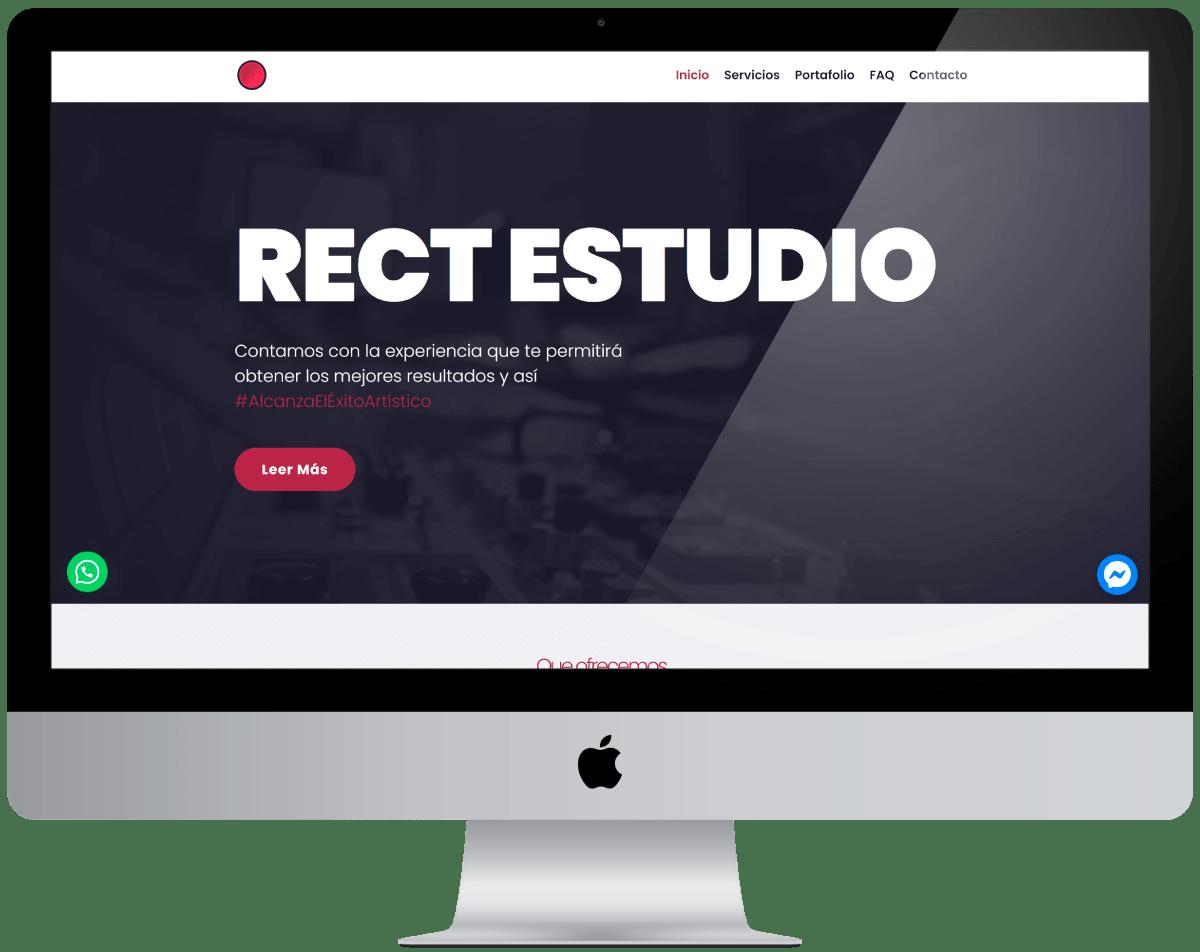 Productora Diseño web Profesional