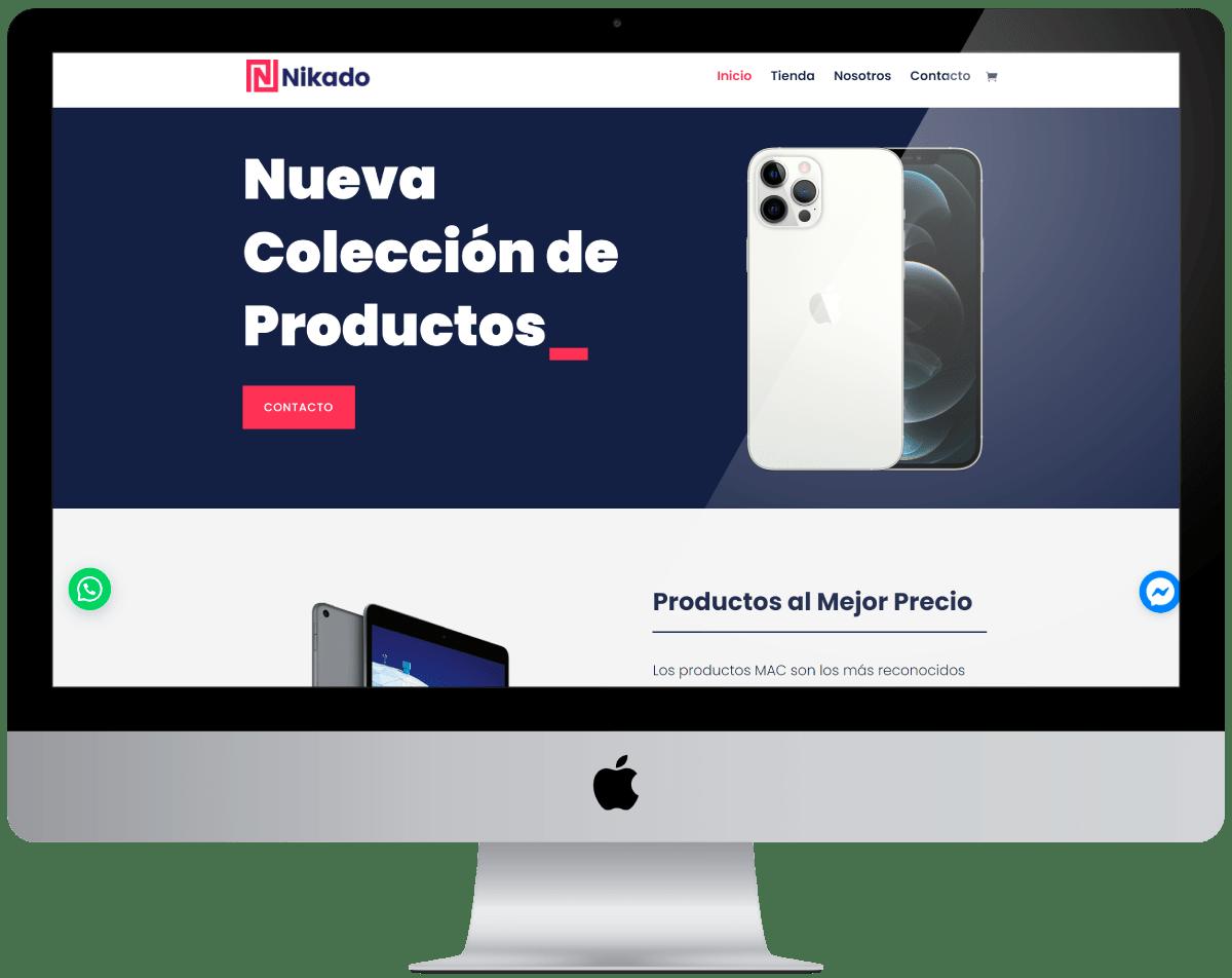 Productos de Ti Diseño web Profesional