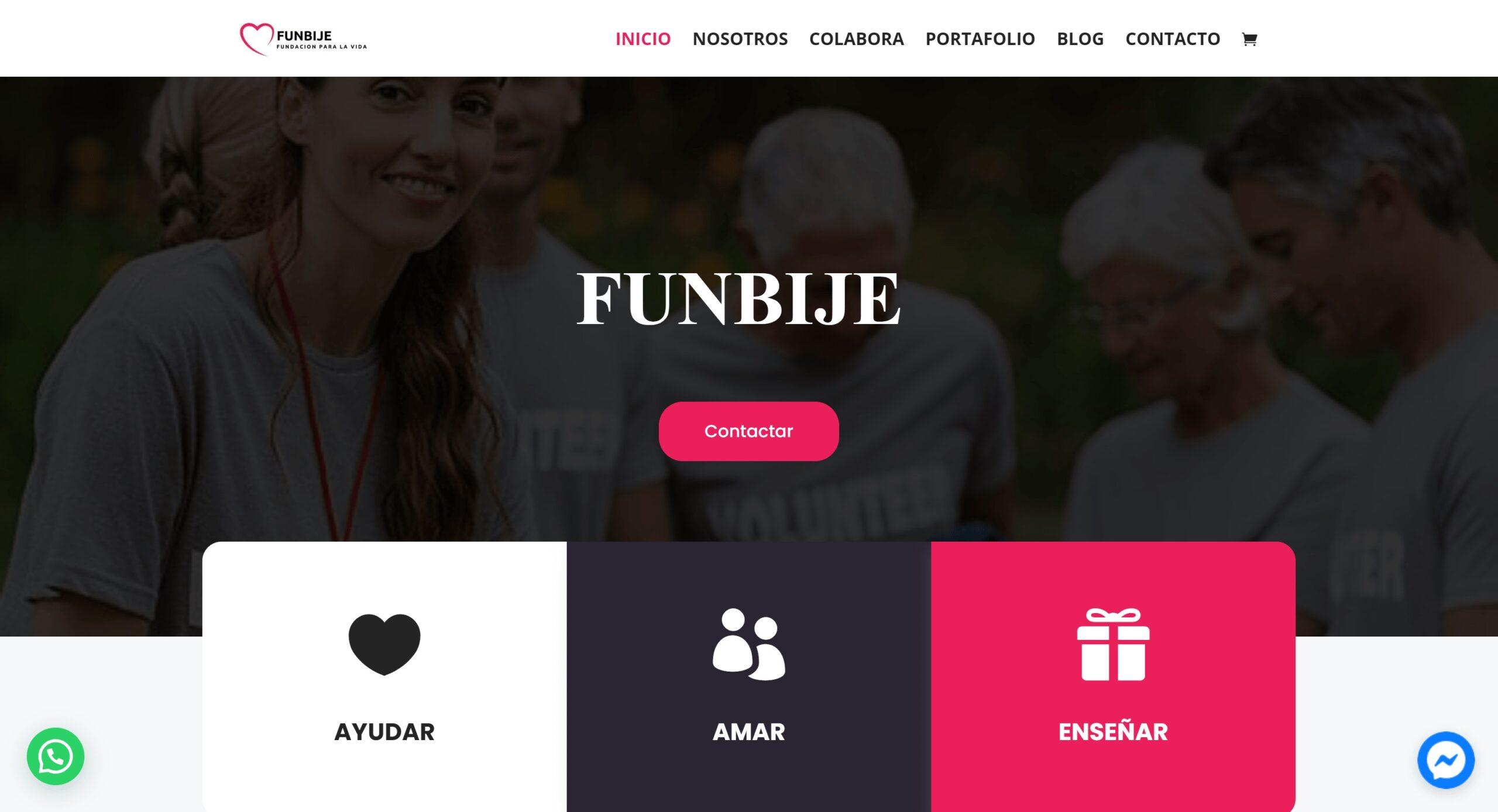 funbije scaled 1 Diseño web Profesional